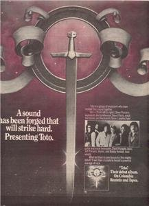 1978 TOTO POSTER TYPE AD
