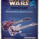 * STAR WARS FERNANDES GUITAR AD