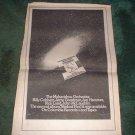 * 1973 MAHAVISHNU ORCHESTRA POSTER TYPE PROMO  AD