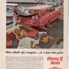 * 1962 CHEVY NOVA 400 STATION WAGON PHOTO PRINT AD