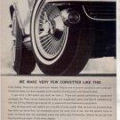 1964 CHEVY CORVETTE STING RAY CAR AD