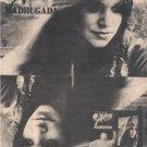 1974 MELANIE MADRUGADA POSTER TYPE AD
