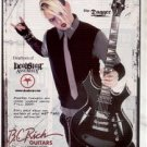 DEADSTAR DEAD STAR ASSEMBLY DEARBORN BC RICH GUITAR AD