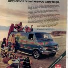 1975 1976 DODGE VAN ORIGINAL CAR AD