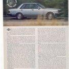 1980 1981 DATSUN 810 MAXIMA ROAD TEST AD 4-PAGE