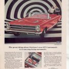 1966 FORD FAIRLANE GT CONVERTABLE VINTAGE CAR AD