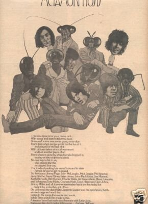 THE ROLLING STONES METAMORPHOSIS PROMO AD 1975