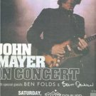 JOHN MAYER IN CONCERT AD BEN FOLDS