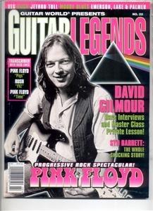 JULY 1997 PINK FLOYD GUITAR WORLD MAGAZINE GILMOUR