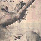 ROGER DALTREY RIDE A ROCK HORSE POSTER TYPE AD 1975