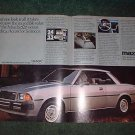 1980 MAZDA 626 SPORT COUPE CAR AD
