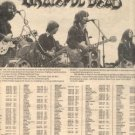 GRATEFUL DEAD LIVE ON KING BISCUIT FLOWER PROMO AD 1976