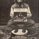 JETHRO TULL SONGS FROM THE WOOD PROMO AD 1977