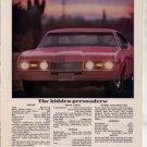 1968 OLDSMOBILE 442 VINTAGE CAR AD THE HIDDEN PERSUADER