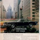 * 1962 CHRYSLER NEW YORKER PHOTO PRINT AD