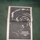 1972 THE ROLLING STONES HOT ROCKS POSTER TYPE AD