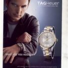 JEFF GORDON UMA THURMAN TAGHEUER TAG HEUER WATCH AD