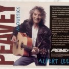 PEAVEY ACOUSTIC GUITAR AD ALBERT LEE 1995