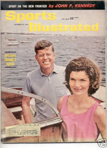 SPORTS ILLUSTRATED DEC 26 1960 JOHN F KENNEDY
