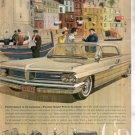 * 1962 PONTIAC GRAND PRIX PHOTO PRINT AD