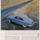 1960 JAGUAR SPORTS SEDAN VINTAGE CAR AD