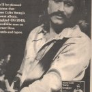 * 1975 JESSE COLIN YOUNG SONGBIRD POSTER TYPE AD