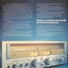 1978 SANSUI G-3000 RECEIVER AD