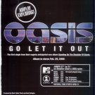 OASIS GO LET IT OUT PROMO AD