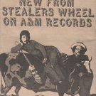 * 1974 STEALERS WHEEL FERGUSLIE PARK POSTER TYPE AD