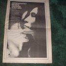 * 1973 YOKO ONO POSTER TYPE PROMO  AD