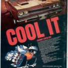 1969 DODGE CORONET SUPER BEE VINTAGE CAR AD