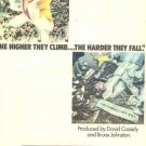 1975 DAVID CASSIDY THE HIGHER THEY CLIMB PROMO AD