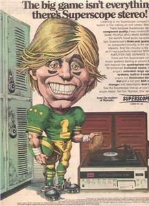 1974 MARANTZ SUPERSCOPE STEREO AD