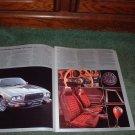 1976 MAZDA COSMO VINTAGE CAR AD 4-PAGE