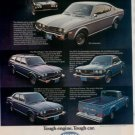 1975 1976 MAZDA RZ-4 RZ-3 PICKUP CAR AD