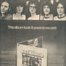 * 1973 BLUES PROJECT POSTER TYPE PRINT AD