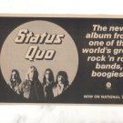 STATUS QUO NATIONAL TOUR AD 1976