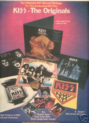 KISS THE ORIGINALS PROMO AD 1976
