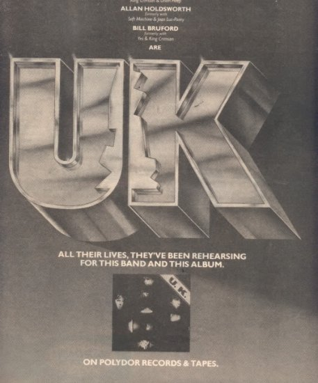 * 1978 UK POSTER TYPE PROMO AD
