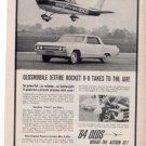 1964 OLDSMOBILE 88 JETFIRE VINTAGE CAR AD