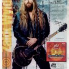 * ZAKK WYLDE GHS GUITAR STRINGS AD