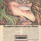 1973 VINTAGE MARANTZ 4230 RECEIVER AD HOT GIRL