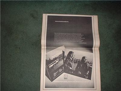 1972 PARRISH GURVITZ POSTER TYPE  AD