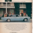 1967 LINCOLN CONTINENTAL VINTAGE CAR AD