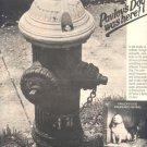1975 PAVLOVS DOG PAMPERED MENIAL POSTER TYPE TOUR AD