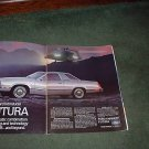 1978 FORD FUTURA VINTAGE CAR AD 2-PAGE