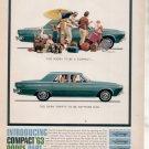* 1963 DODGE DART PHOTO PRINT AD