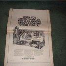 1972 MYLON POSTER TYPE AD