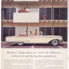 * 1960 MERCURY PARK LANE PHOTO PRINT AD