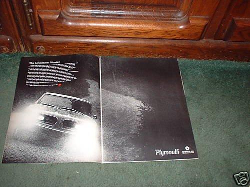 1967 1968 PLYMOUTH BARRACUDA VINTAGE CAR AD 2-PAGE
